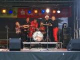 Jazz an der Burgruine 30.5.2010 mit LES HARICOTS ROUGES